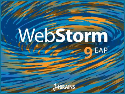 splashWebStorm9EAP