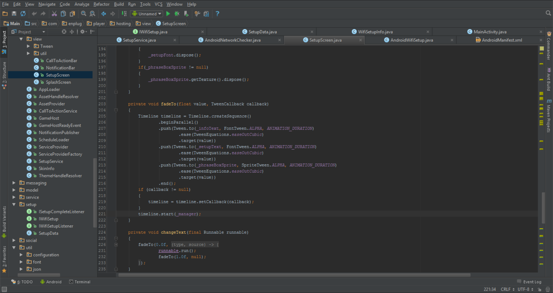 Enplug: IntelliJ IDEA