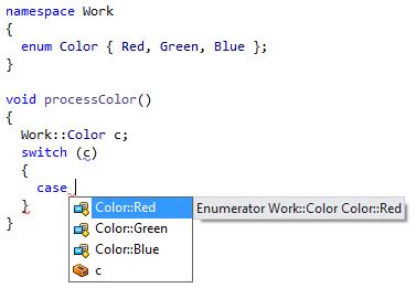 Code Completion in ReSharper C++