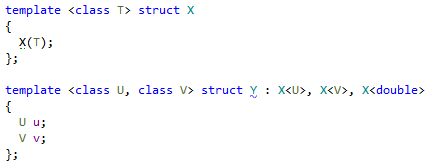 Code Generation for Template Classes in ReSharper C++