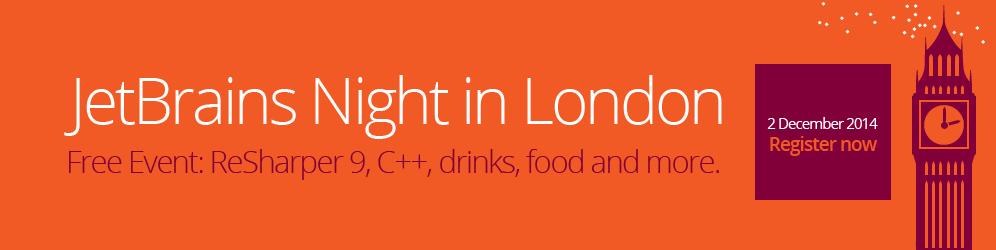JetBrains Night in London