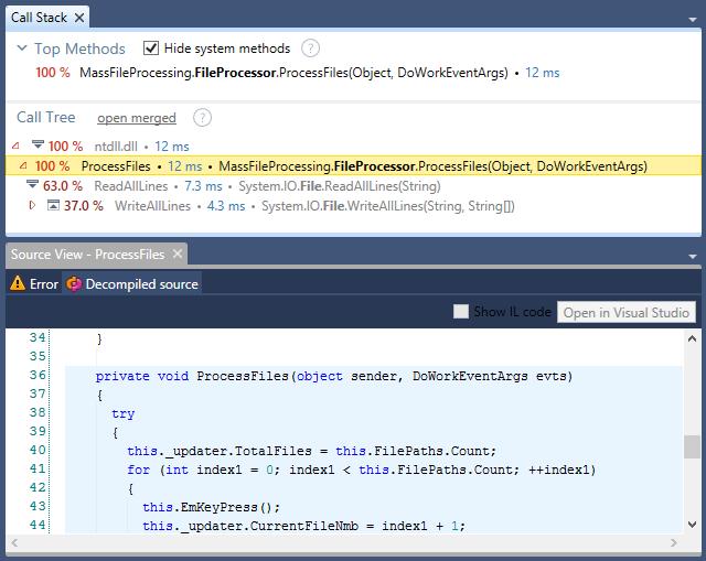 Call Stack Source Code