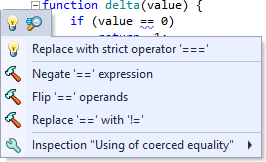 Coerced usage of equals code inspection