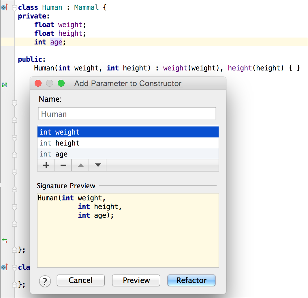 Code generation with clion jetbrains clion blog for Argument list for class template is missing