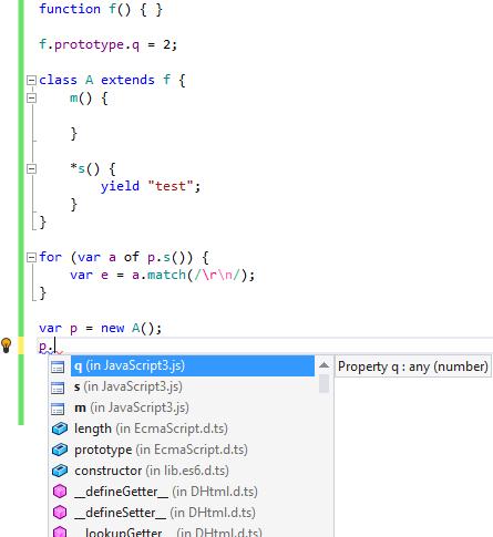 ECMAScript 6 classes support in ReSharper 9.2