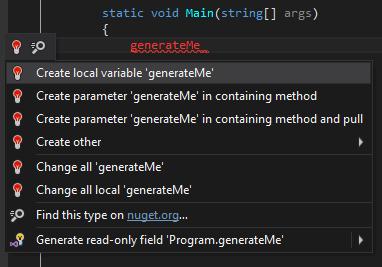 ReSharper and Visual Studio actions merged into ReSharper's menu