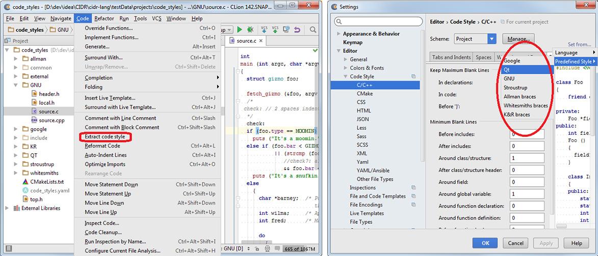 Applying Genetic Algorithm for Automatic Code Formatting