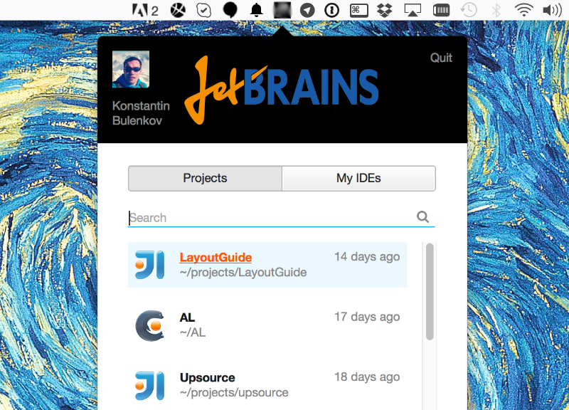 CEOs' Choice: JetBrains App Launcher