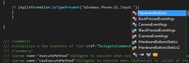 Code completion in ReSharper Api checks