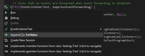 Google test support in ReSharper C++