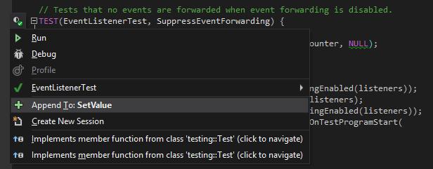 Google test support in ReSharper C++