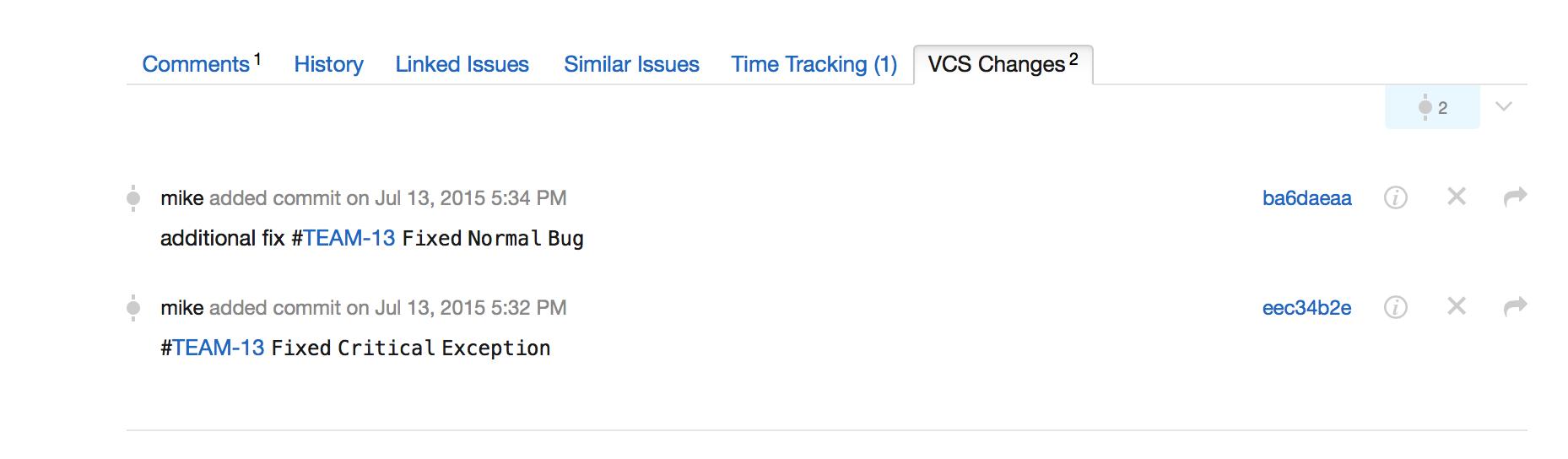 VCS+changes