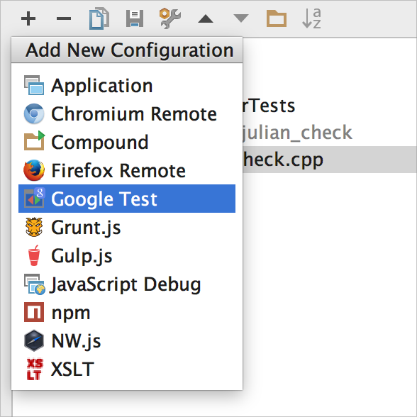 GoogleTest_config
