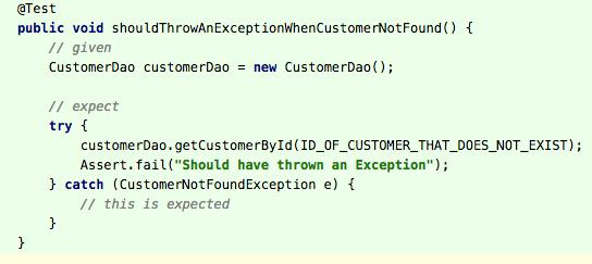 ExpectedException