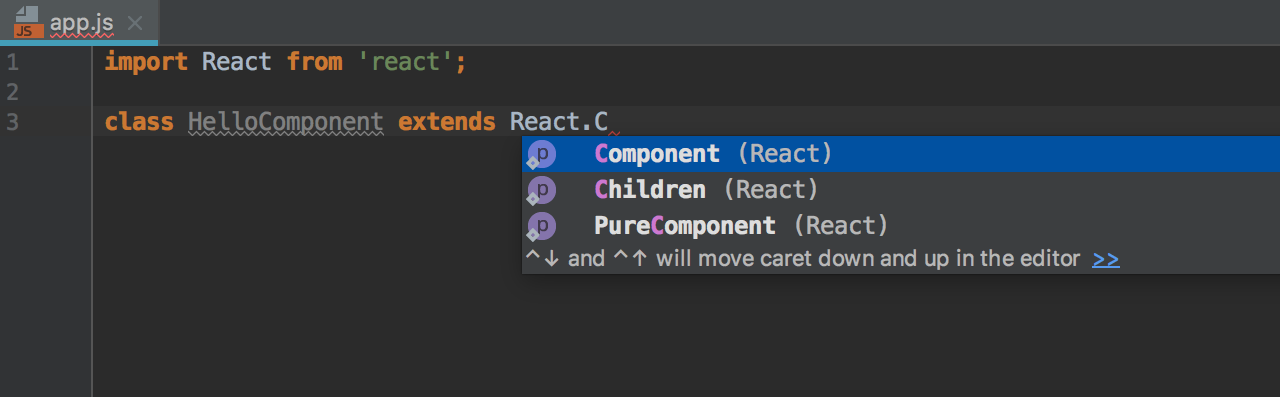 react-completion