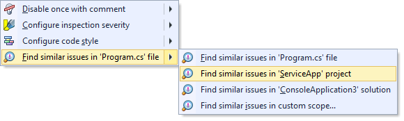 Searching for similar issues