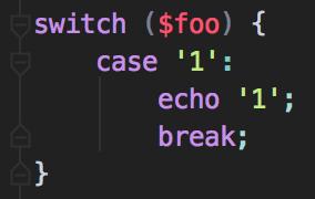 Format Break Default