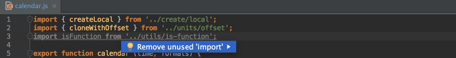remove-unused-import