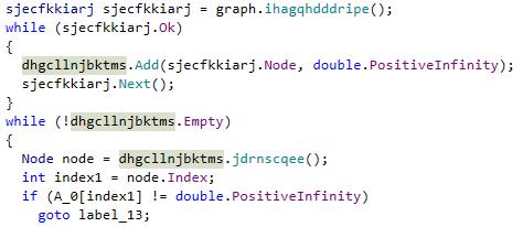 dotPeek: highlighting symbol usages