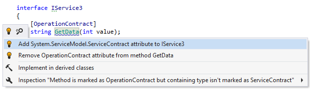 WCF: containing type not marked as ServiceContract