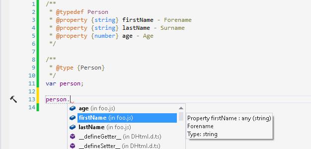 ReSharper support for types defined in JSDoc 3