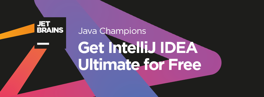 Java Champions - Apply Now for Free IntelliJ IDEA Ultimate License