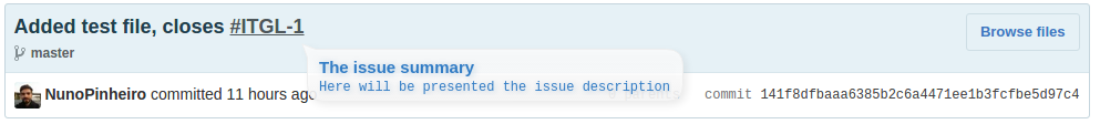 GitHub link injection sample