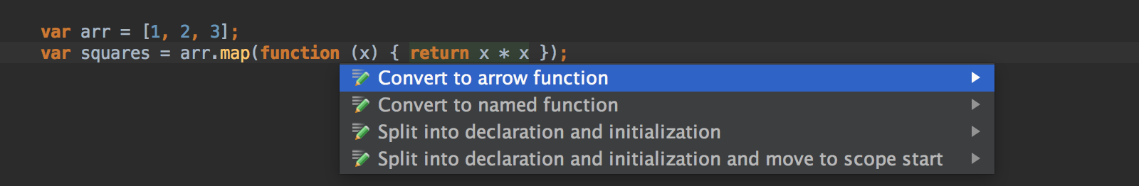 to-arrow-function