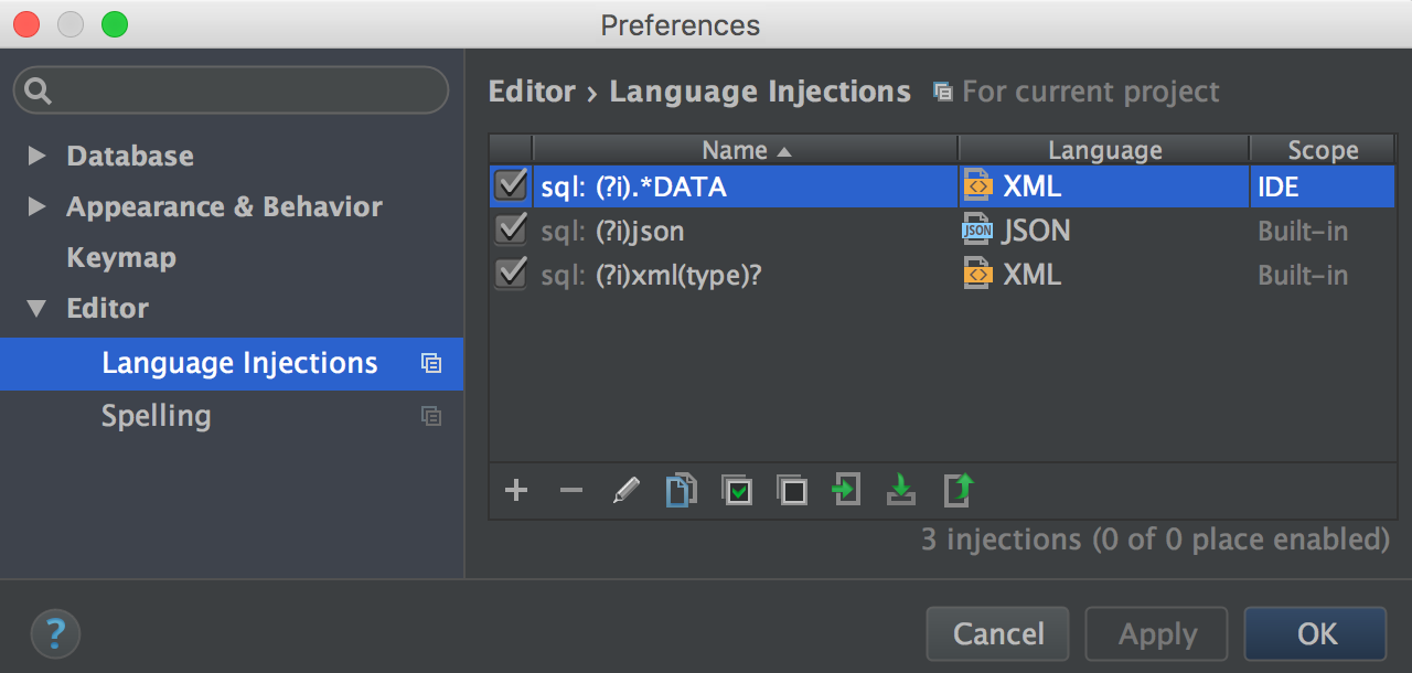 InjectionOptions