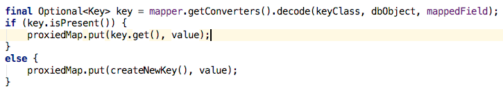 Simplest use of Optional