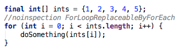For loops are faster over arrays