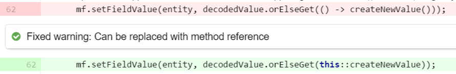 Use orElseGet for expensive operations with method ref