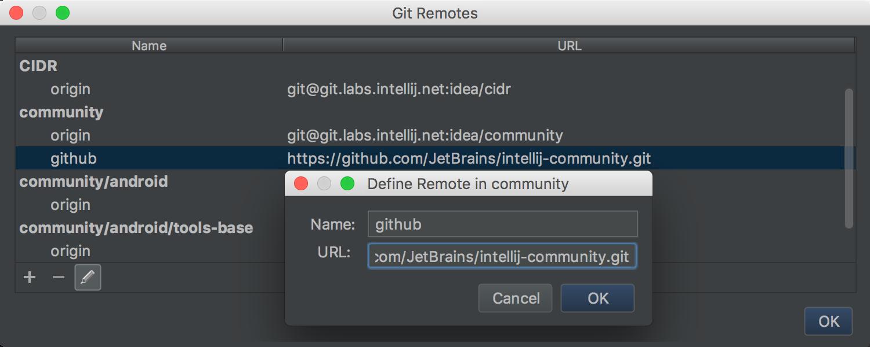 git-remotes