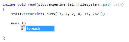 Postfix templates in ReSharper C++ 2016.3