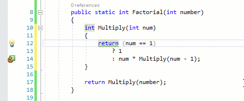 Convert local function to expression body and vice-versa