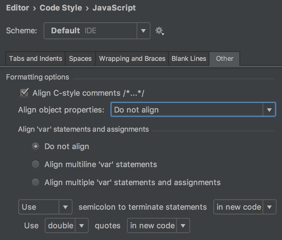 code-style-semicolon