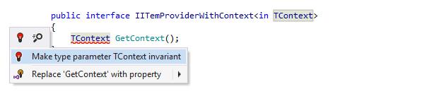 Making parameter invariant