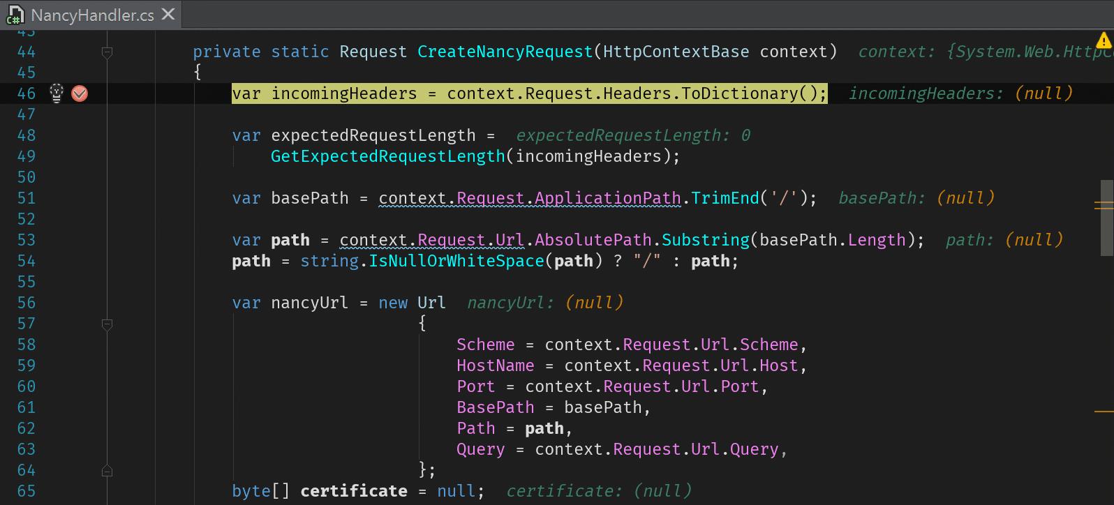 Rider debugger displays variable value in editor