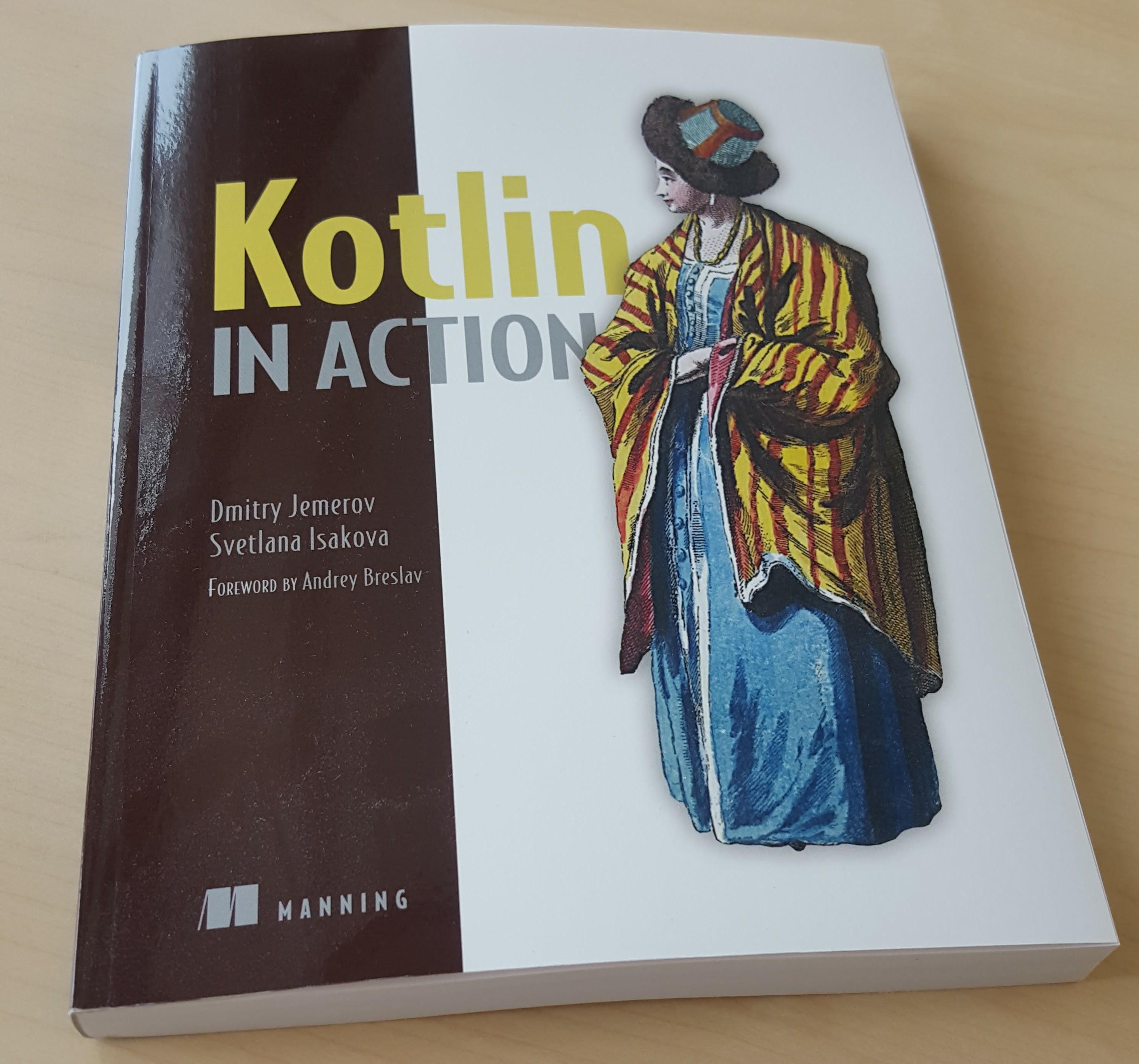 Kotlin in Action book