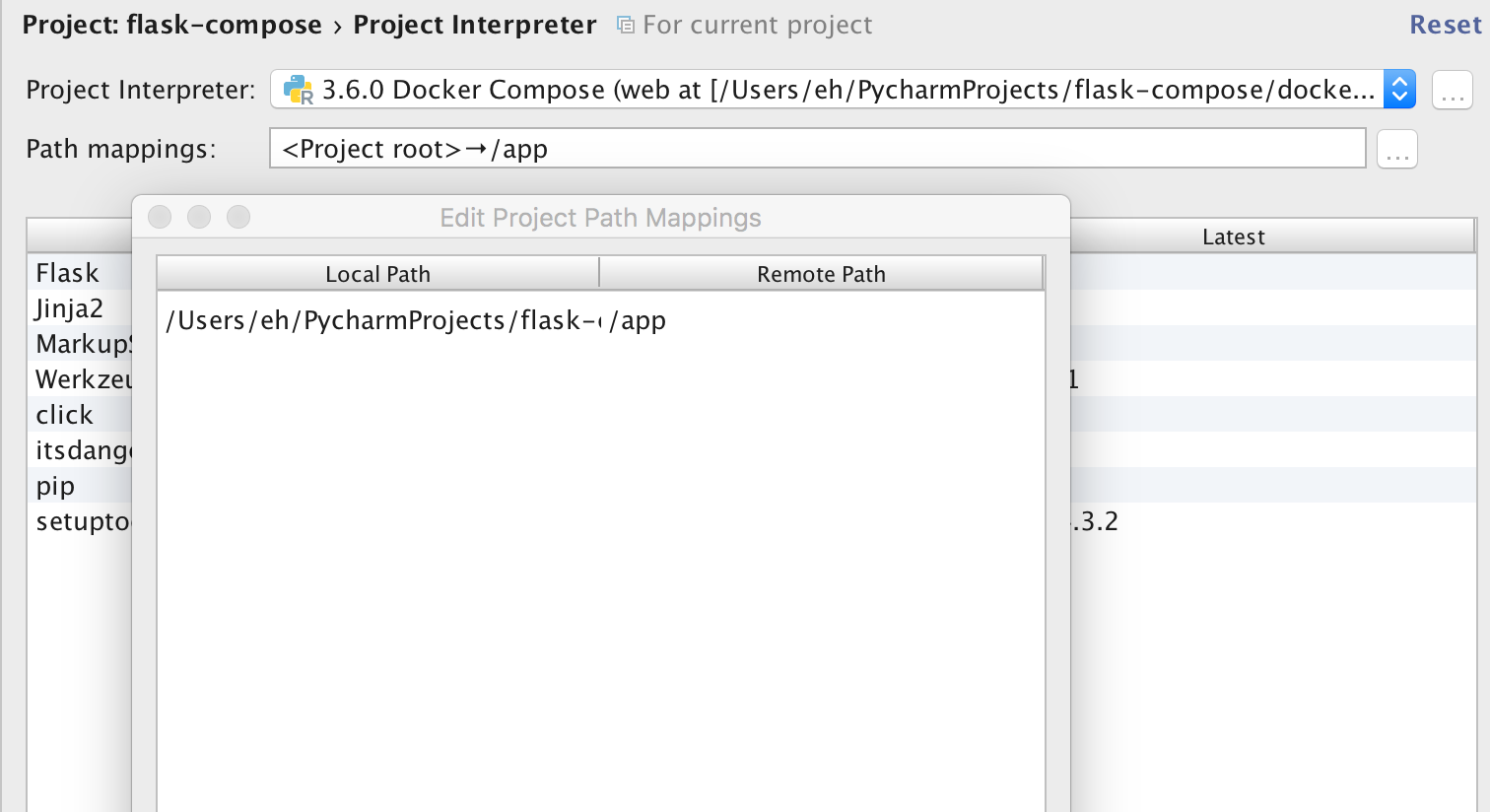 Path mappings