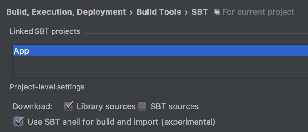 SBT Preferences