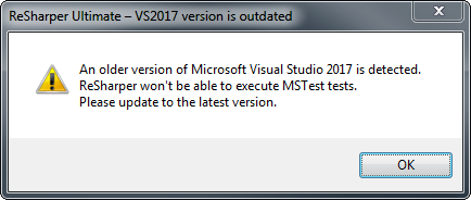 Visual Studio 2017 outdated? Not really