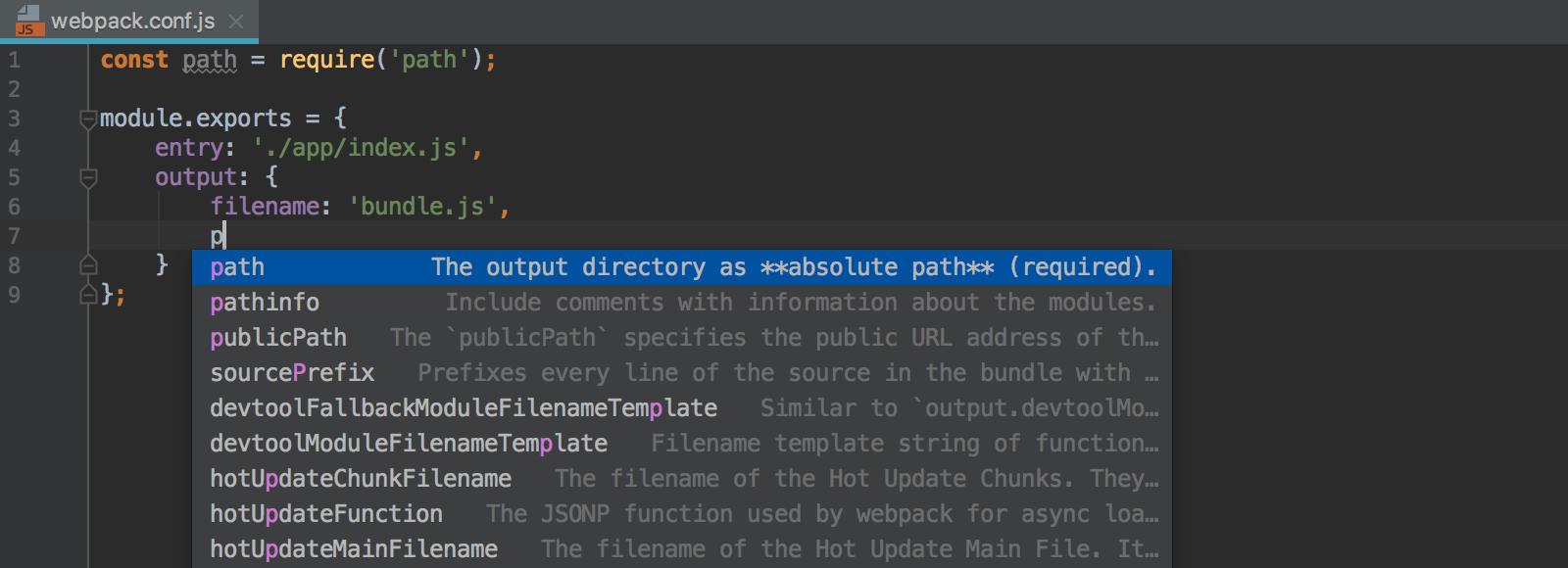 webpack-conf