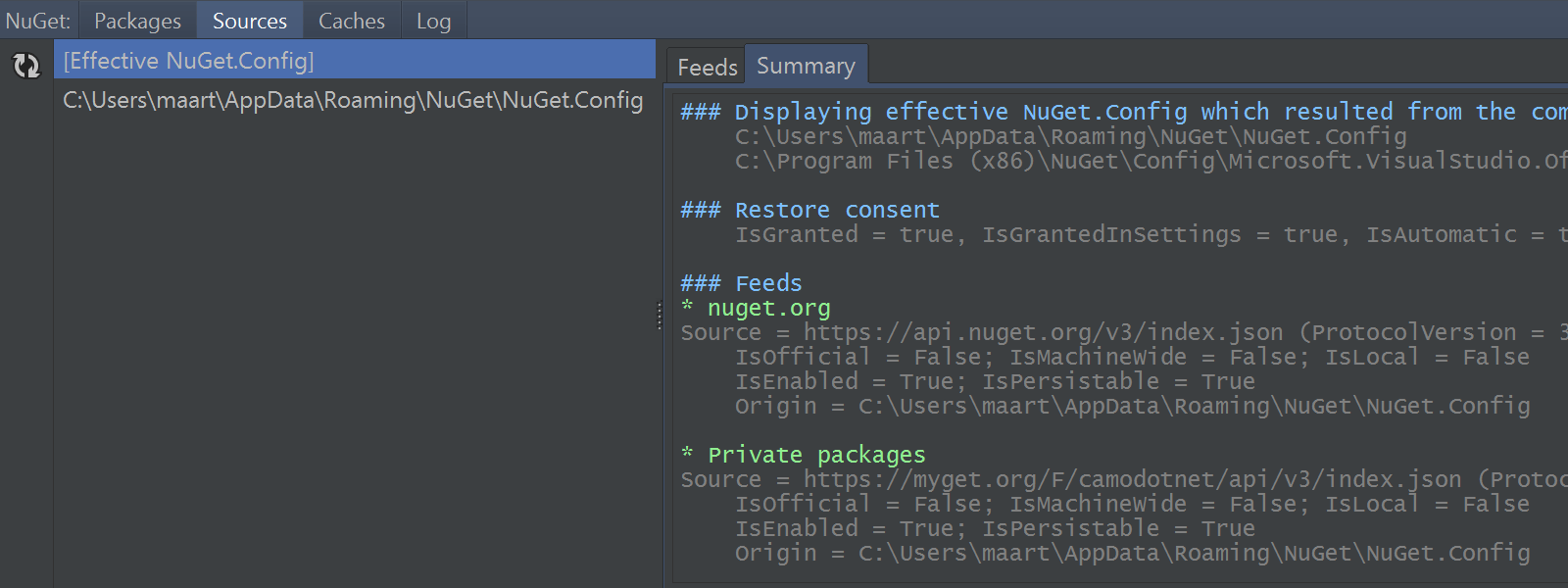 Effective NuGet configuration