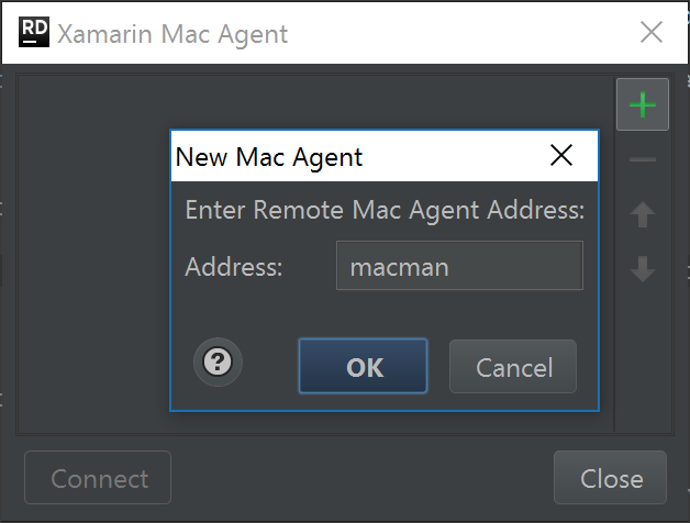 Configure Xamarin Mac remote agent