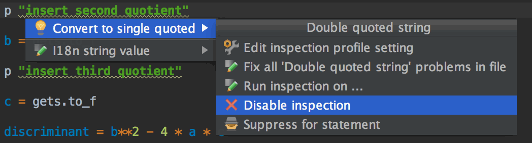 disable_inspections_rubymine