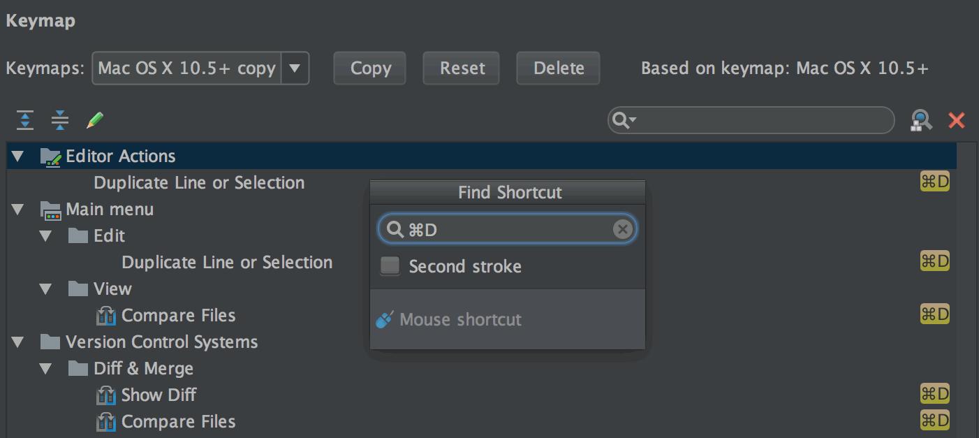 find_assign_shortcuts_rubymine