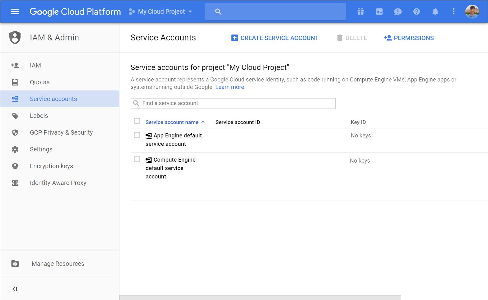 teamcity-google-profile