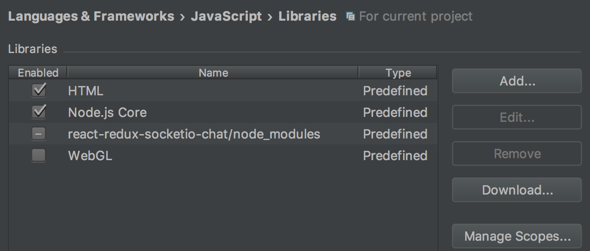 html-node-libs
