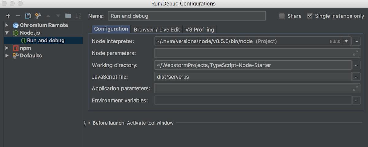 ts-debug-configuration